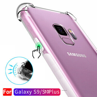 Crystal Shockproof Silicone Hybrid Bumper Case Cover for Samsung Galaxy S10 A+