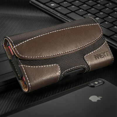 HorizontaL Leather Case Pouch Holster Belt Clip for Samsung Galaxy S10 Plus S10e