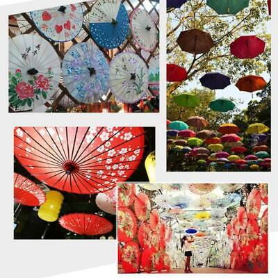 Chinese Oil Paper Umbrella Parasol Wedding Classic Dance Stage Property Decor