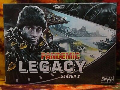 Z-Man Games Pandemic: Legacy Season 2 (Black Edition) Nearly Unused [ZM7172]