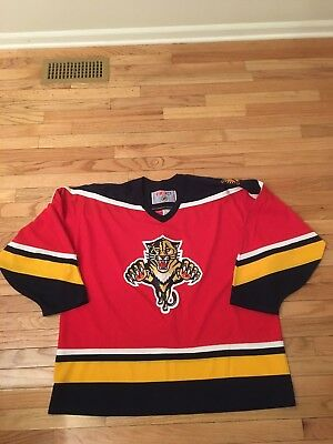 VINTAGE STARTER NHL FLORIDA PANTHERS Authentic Hockey Jersey Men 52 ... 1ca2e0399