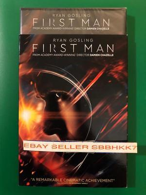 First Man DVD {{AUTHENTIC DVD READ}} Brand New Free Shipping