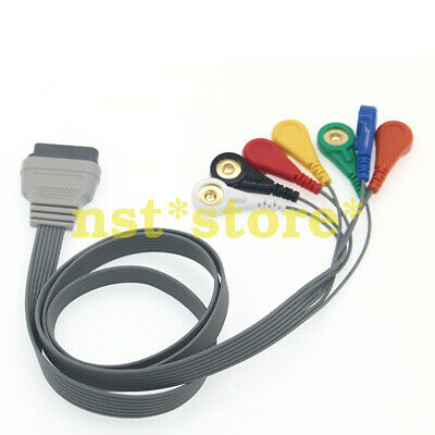 for    SE-2003 SE-2012 16P New Dynamic ECG Lead Wire 7 Guide