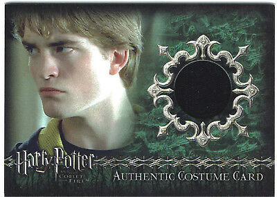 Harry Potter Goblet of Fire GoF Costume Card C2 Pattinson Cedric Diggory 029/500