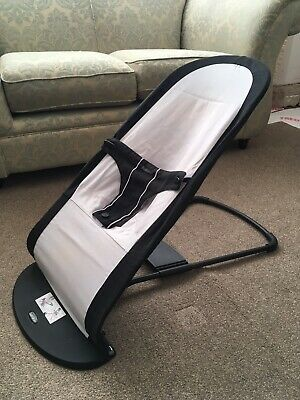 Baby Bjorn Bouncer With Reversible Seat Strap - Foldaway Space Saving Bouncer