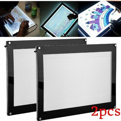 LED Graphic Tablet Writing Painting Light Box Tracing Board Copy Pads H1R4