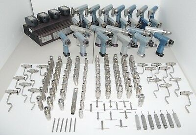 MicroAire Orthopaedic Drill and Saw Sets (26 Drills & Over 100 Attachments)