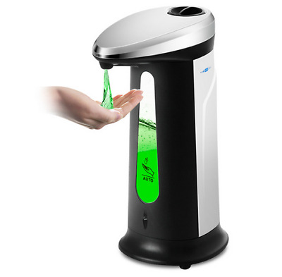 400ml Automatic Soap Dispenser Auto Touchless IR Sensor Soap Liquid Sanitizer