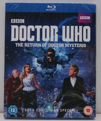 Doctor Who The Return Of Doctor Mysterio uk region B BLU RAY NEW & SEALED Xmas