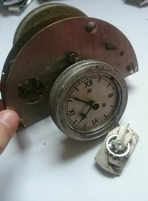 VINTAGE LOT LOTE RARE Clock FOR SPARE FOR REPAIR