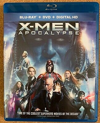 Marvel X-Men Apocalypse Blu Ray 1 Disc Only Free World Wide Shipping Buy It Now