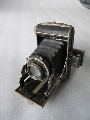 Vintage 1930's - CERTO DOLLY 4x6.5 and 3x4cm exposures, folding camera 127 film