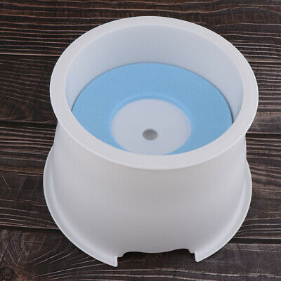 Do Not Wet Pet Bowl No Splash Easy to Use Dish Feed Water Drinker Container