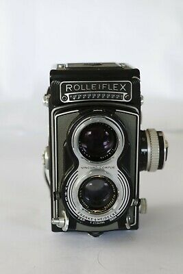Rolleiflex T  Tessar 75mm f/3.5 A REPARER ( To repear)