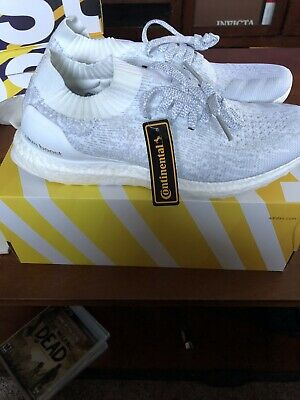 check out 48b1c af681 2016 ADIDAS ULTRA BOOST UNCAGED LTD TRIPLE WHITE CLEAR GREY BB0773 Size US  10.5