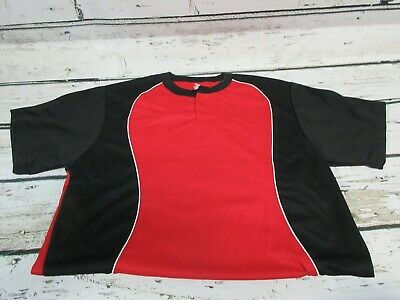 a19cff3ed PRO MARK BY Martin Blue Red White Football Jersey size Adult L XL ...
