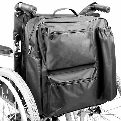 Multifunction Wheelchair Bag | Mobility Scooter Padded Rear Backpack | M&W