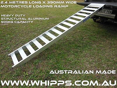2.4 Metre Motorcycle Loading Ramp Whipps Alloy Products