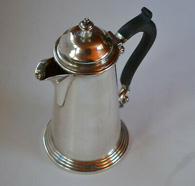 Vintage Silver Hot Water Jug By Harrison Brother & Hawson
