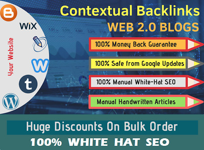 Fire Your Google Ranking With 200 Contextual SEO Backlinks DA 100-40 with login