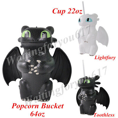 The Hidden World How To Train Your Dragon Toothless Lightfury Cup Popcorn Bucket