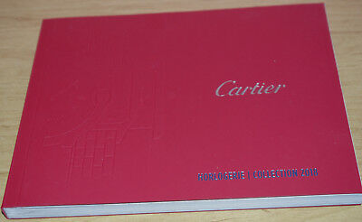 Cartier Luxueux Catalogue Horlogerie Collection 2018 Version Grand Prestige Neuf
