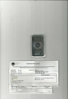 1st EVER! ROYAL CANADIAN MINT/EBAY 10 OUNCE SILVER BAR - SEALED w INVOICE