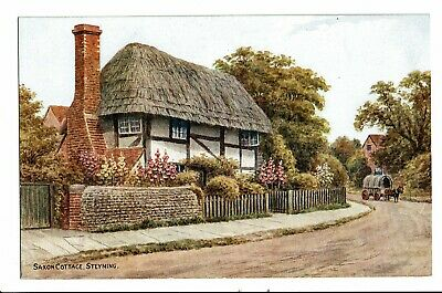 CPA - Carte postale-Royaume Uni - Sussex-Steyning-Saxon Cottage  VM781