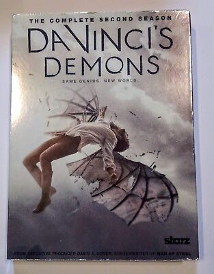 Da Vincis Demons: The Complete Second Season (DVD, 2015, 3-Disc Set)