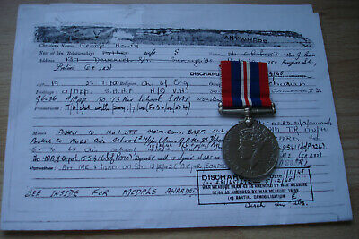 Original British Ww2 War Medal Awarded To Levie South African Air Force Saaf