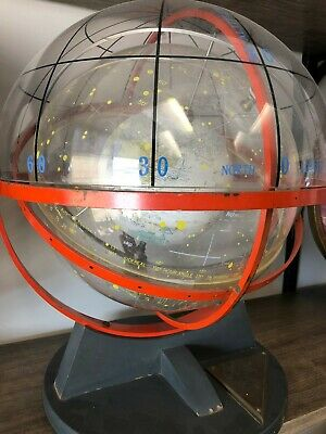 Antique 1954 Farquhar Celestial Navigation Sphere Globe space age for US Navy