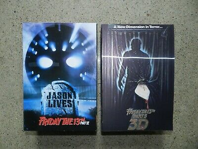 """NECA Friday the 13th Part 3 & Part 6 Jason Voorhees Ultimate 7"""" Action Figure"""