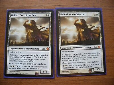 God of the Sun  VO Heliod Mint//NM MTG Magic