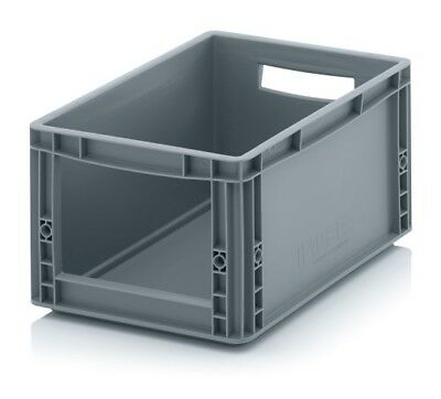 Storage Containers 40x30x22 with Window Stacking Box Eurobox Stackable