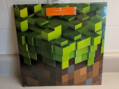 Minecraft Volume Alpha Vinyl Record LP Green New, non Lenticular C 418