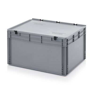Euro Containers 80x60x42 M.D.Stacking Storage Box Eurobox Stackable