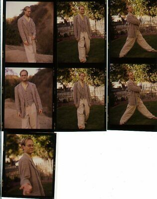 "*R296 LOT 7 VINTAGE 3"" TRANSPARENCY PHOTOS David Hyde Pierce HELLO DOLLY FRASIER"