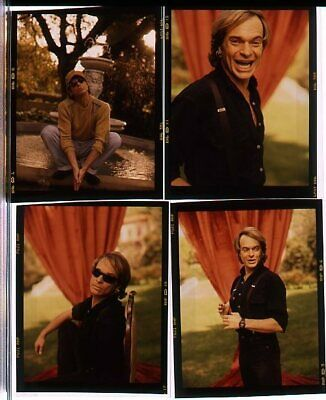 "*R347 LOT OF 4 BAND VINTAGE 3"" TRANSPARENCY PHOTOS David Lee Roth VAN HALEN"