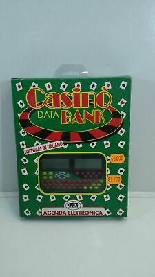 Gioco - CASINO' DATA BANK GIG AGENDA ELETTRONICA NEW!!!