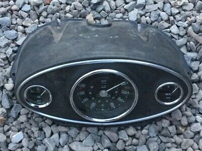classic mini speedo binnacle With Smiths Gauges  In Good Used Condition See Pics