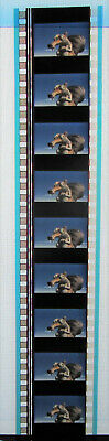 1 Strip Of 10 No. Scrat Ice Age Film Cells Clearout Bargain
