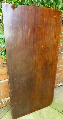 """Georgian Mahogany Large table leaf South American timber 1 piece 50x24¼x7/8""""s"""