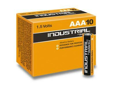 Pack de 10 piles Duracell INDUSTRIELLES MN2400/LR03 Micro AAA PRIX PROMO!!!!!!!!
