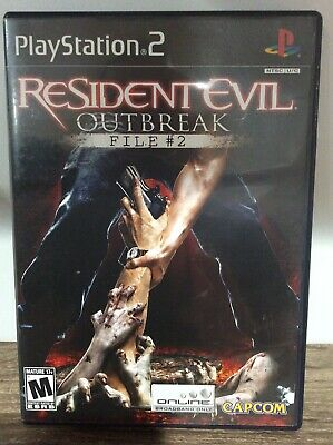 Resident Evil: Outbreak -- File #2 (Sony PlayStation 2, 2005)