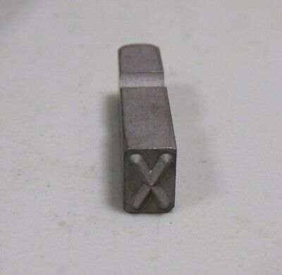 "1 new Durable Mecco /""B/"" Letter Sharp Facet H85 1//8 1-1//4/""L Steel Marking Stamp"