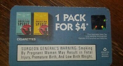 American Spirit Cigarette Coupon
