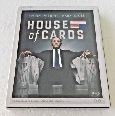 House of Cards  The Complete First Season  Blu-ray Disc, 2013, 4-Disc Set