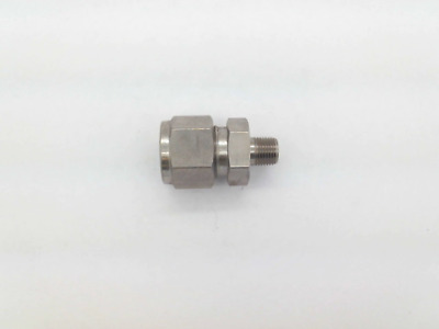 "Hy-Lok CMC 8-2N-S316, 1/2"" x 1/8 Male Connector, Tube, 316 Stainless, SS-810-1-2"