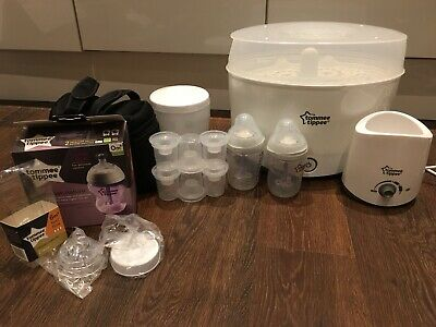 Tommee Tippee 423554 Closer to Nature Electric Steriliser Kit and Accessories