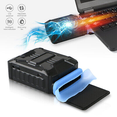 Mini Vacuum USB Cooler Air Extracting Cooling Fan Pad for Notebook Laptop Gt